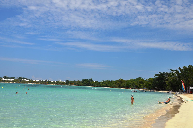 Beach, Negril, Jamaica