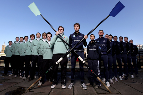 Oxford Vs. Cambridge Rowers