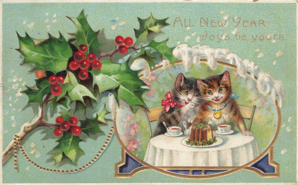 New Year's Cats