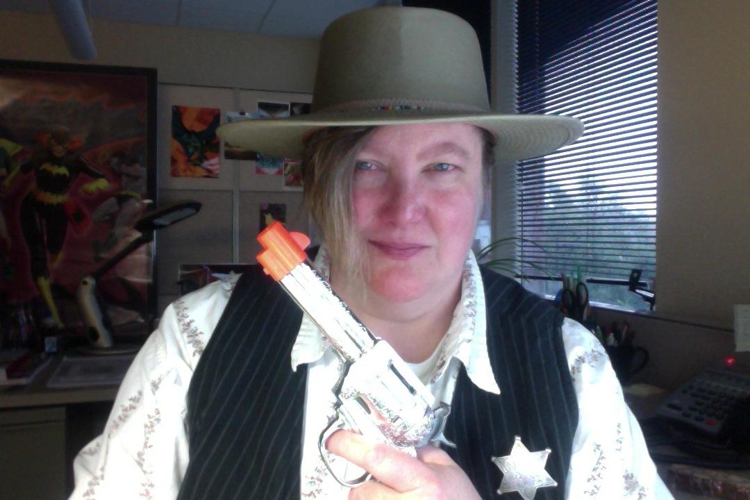 Cowboy Selfie, Halloween 2013