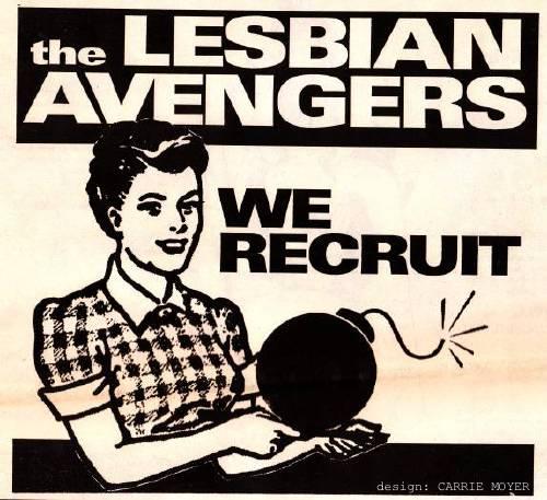Lesbian Avengers: We Recruit