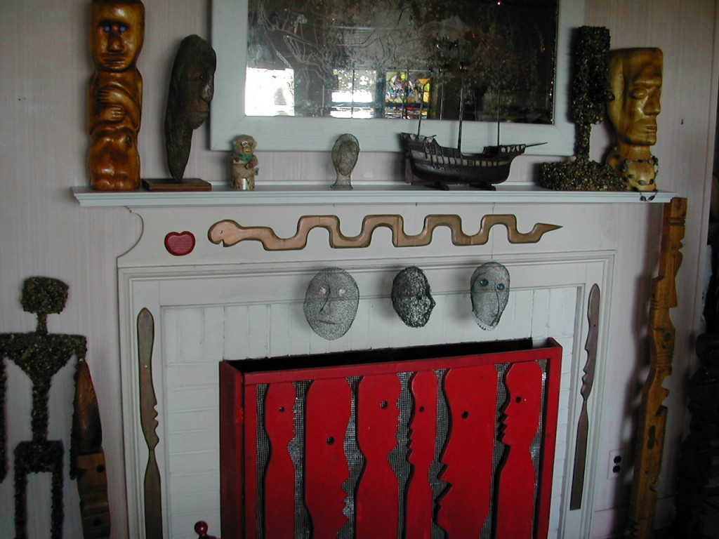 Mary Nohl House Fireplace