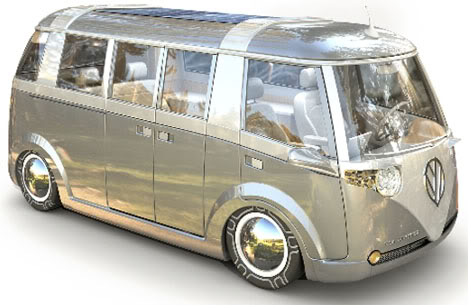 Volkswagen Microbus 2014 and Concepts of the Past  Peace And Surf
