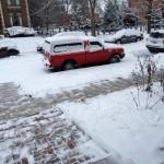 Clean walks! Good neighbor checklist, item 1